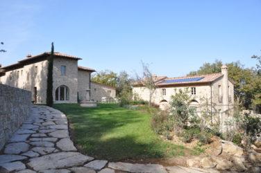 Vue du hameau de Fonte la Valle, Toscane